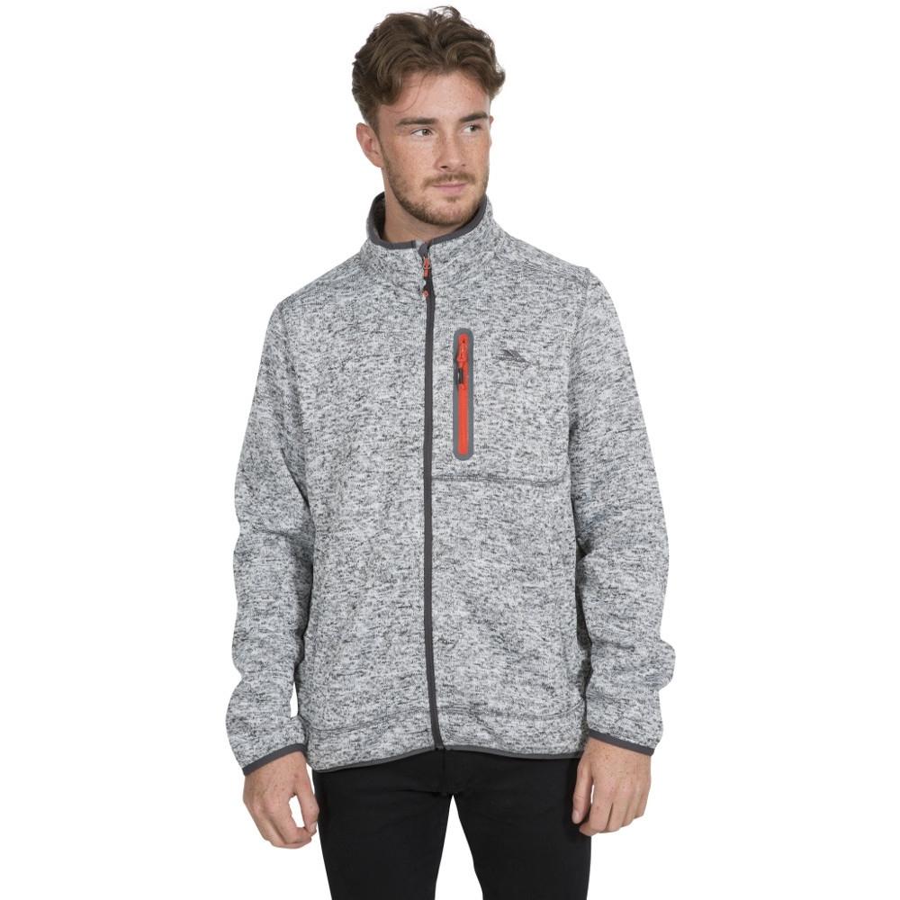Trespass Mens Bingham Full Zip Polyester Walking Fleece Jacket Xs - Chest 32-34 (83-88cm)