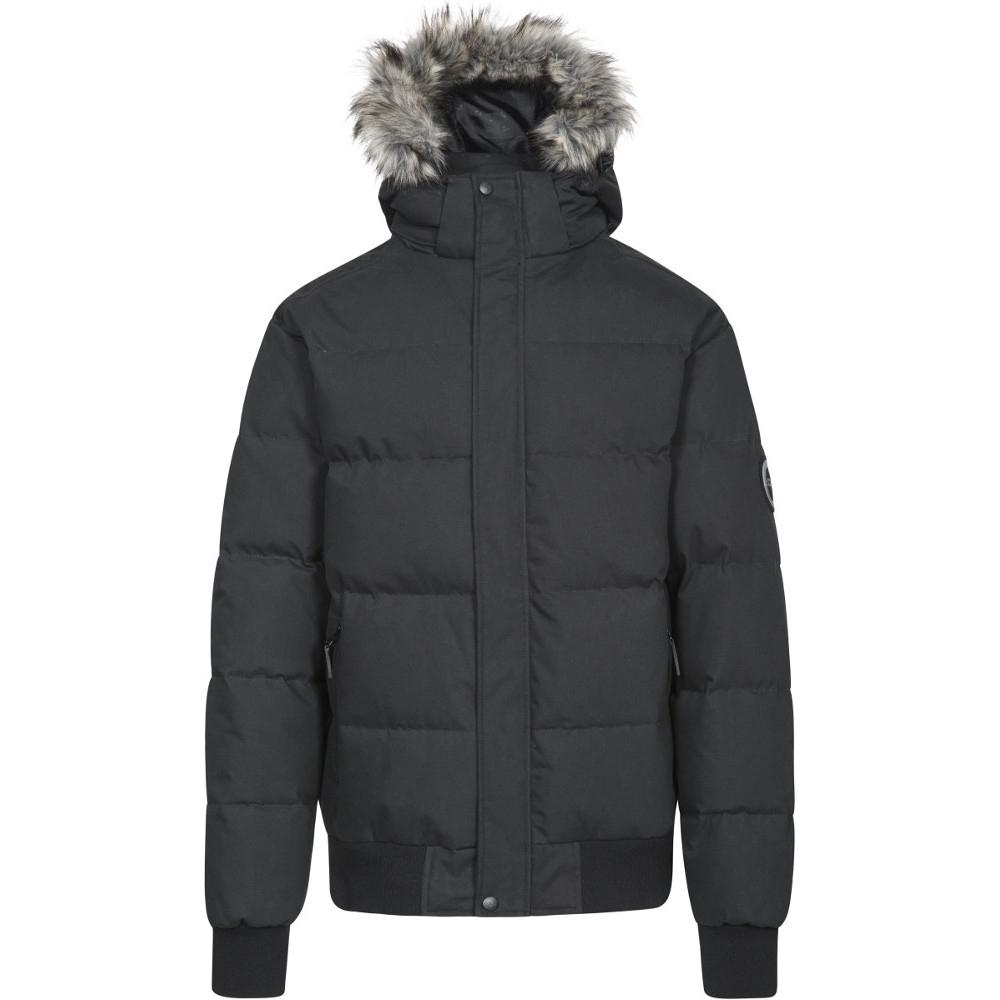 Trespass Mens Calgary Hooded Padded Synthetic Duck Down Jacket Coat Xxl - Chest 46-48 (117-122cm)