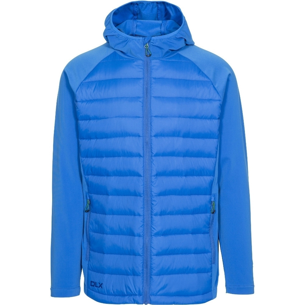 Trespass Mens Cade Hooded Padded Synthetic Duck Down Jacket Coat Xxl - Chest 46-48 (117-122cm)