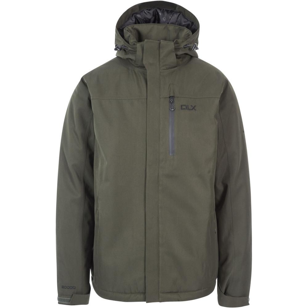 Trespass Mens Renner Waterproof Windproof Padded Walking Jacket Coat Xxs- Chest 31-33 (79-84cm)