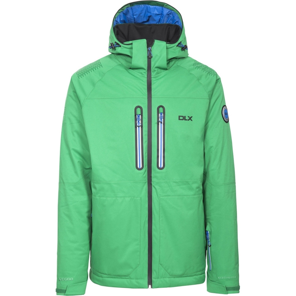 Trespass Mens Allen Waterproof Breathable Hooded Padded Skiing Jacket Xs - Chest 32-34 (83-88cm)