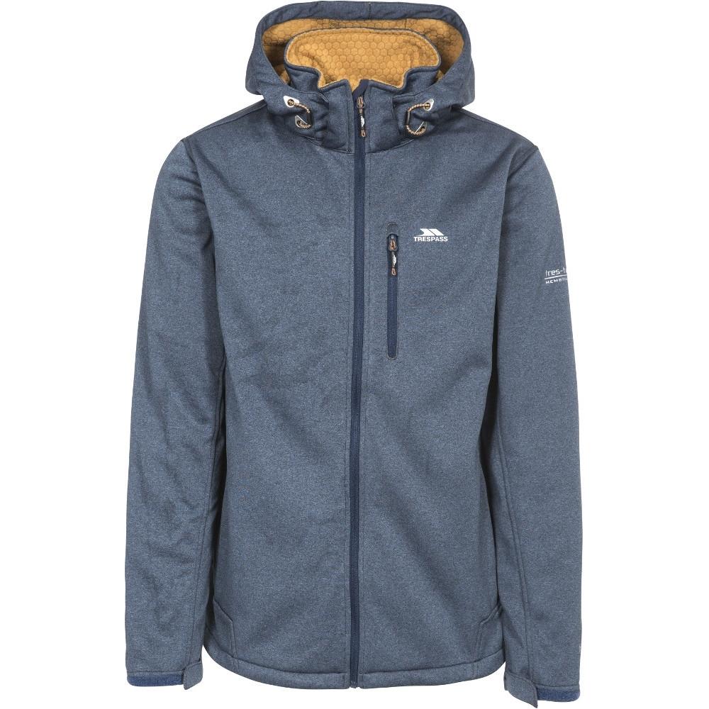 Trespass Mens Maynard Waterproof Windproof Breathable Softshell Jacket Xs - Chest 32-34 (83-88cm)