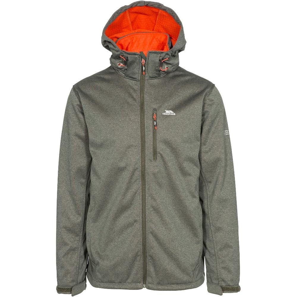 Trespass Mens Maynard Waterproof Windproof Breathable Softshell Jacket Xxs - Chest 29-31 (77-82cm)