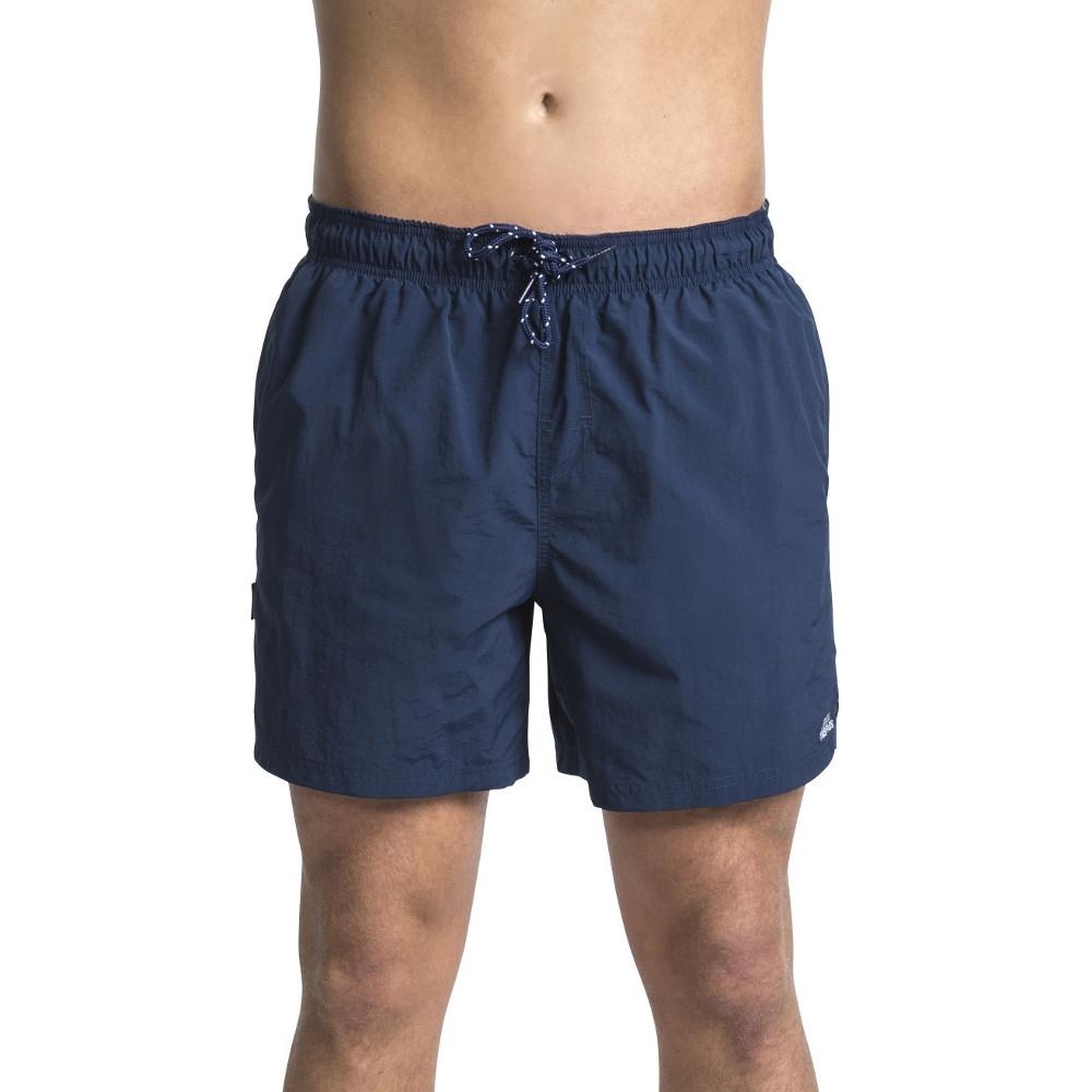 Trespass Mens Luena Mid Length Elasticated Swimming Shorts S - Waist 30-32 (76-81cm)