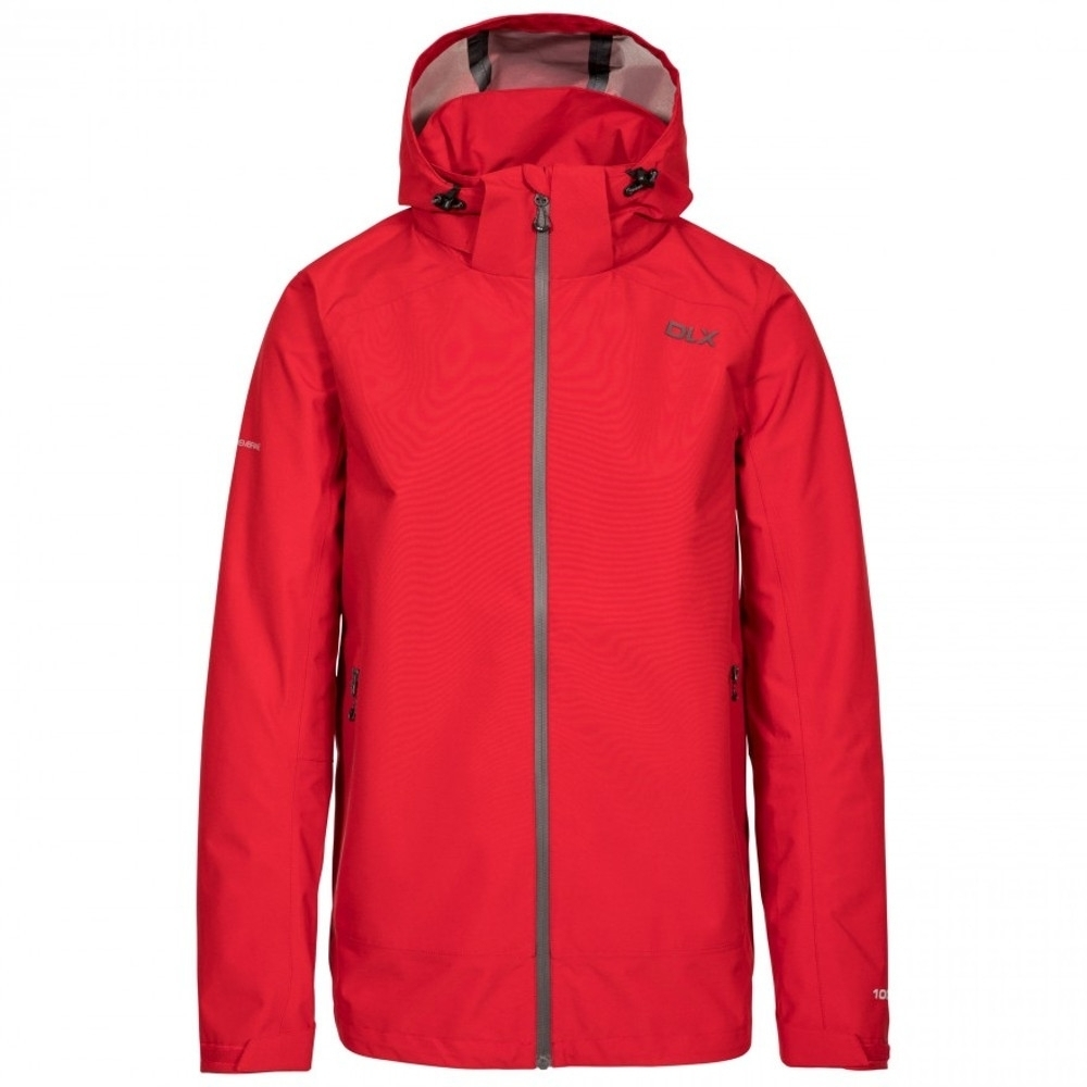 Trespass Boys Lozano Dlx Waterproof Hooded Shell Jacket Xs - Chest 33-35 (84-89cm)