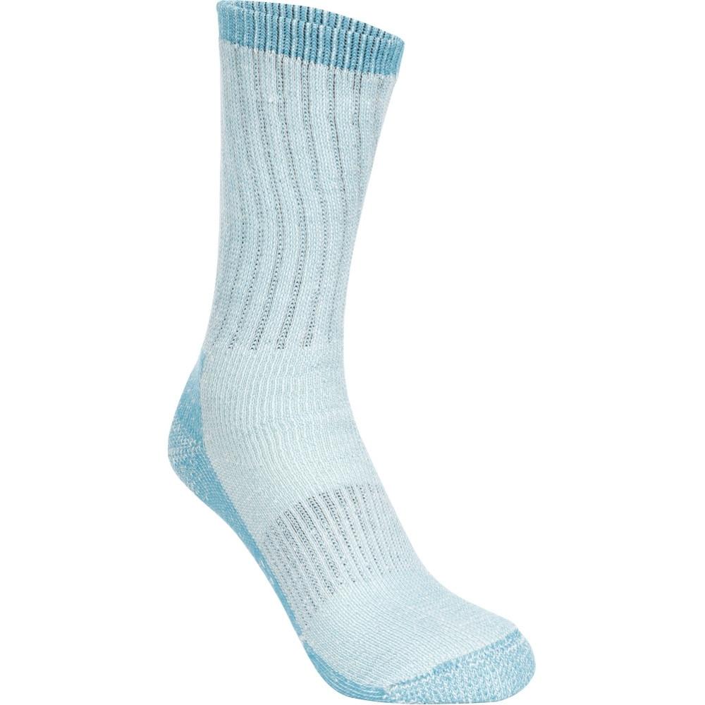Trespass Womens Springer Heavy Trekking Walking Socks Uk Size 6-9 (eur 40-43)