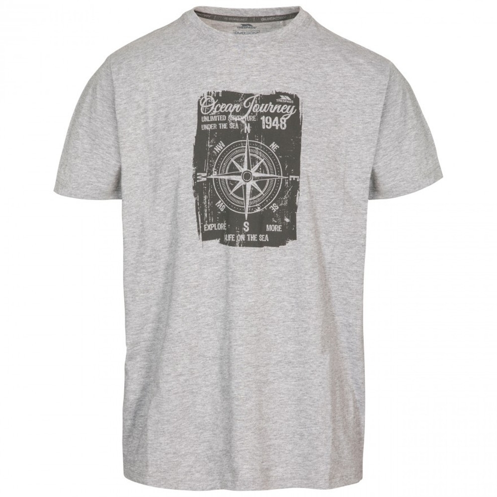 Trespass Mens Course Short Sleeve Quick Dry Graphic T Shirt Xs - Chest 33-35 (84-89cm)
