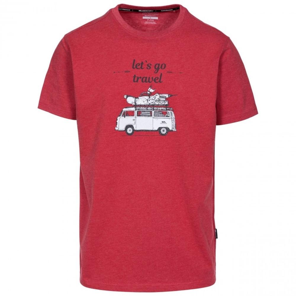 Trespass Mens Motorway Short Sleeve Graphic T Shirt M - Chest 38-40 (96.5-101.5cm)