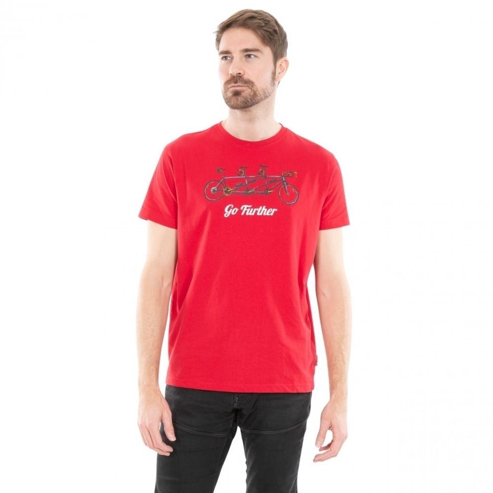 Trespass Mens Hanks Ii Short Sleeve Graphic T Shirt L - Chest 41-43 (104-109cm)