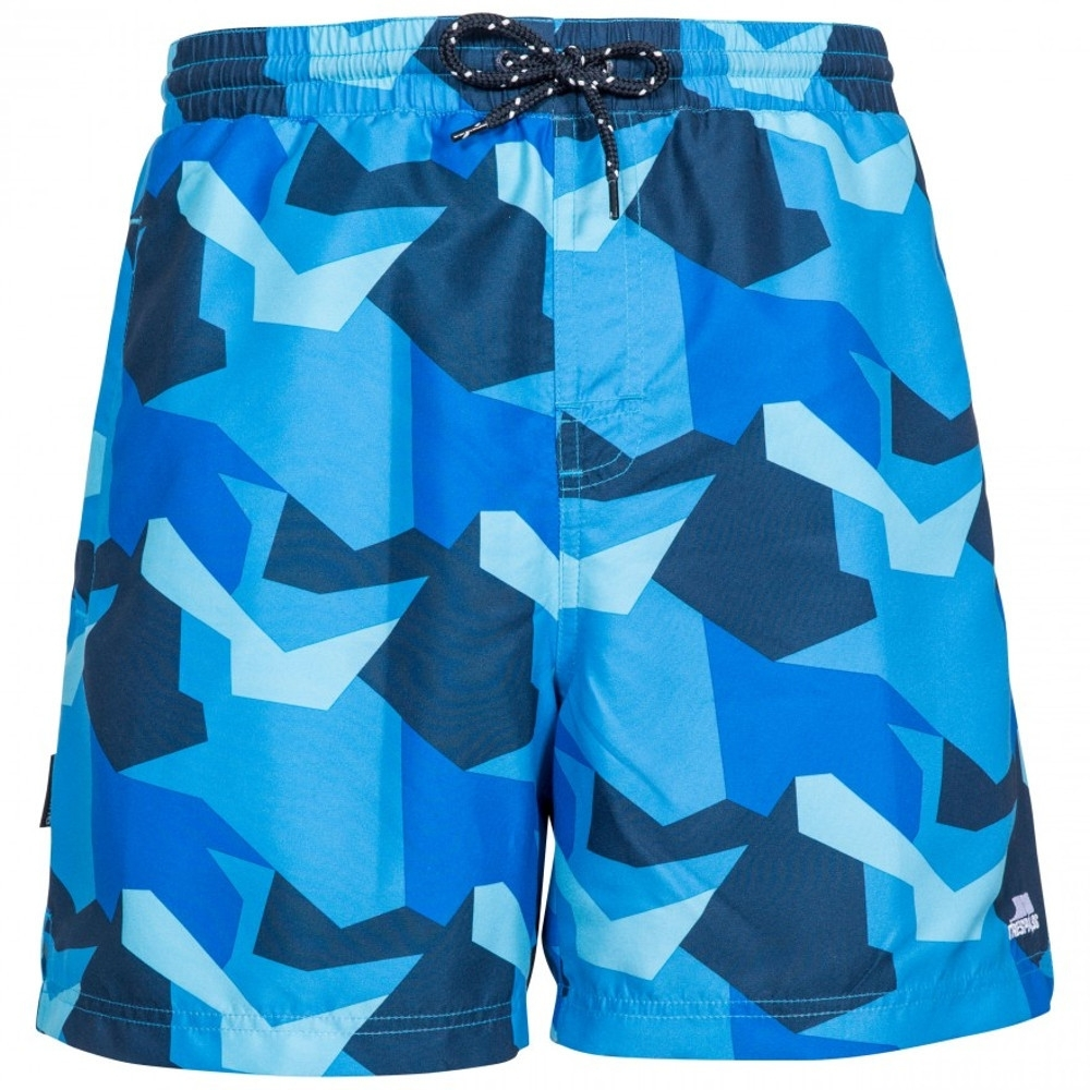 Trespass Mens Chiggers Mid Length Quick Dry Swim Shorts L - Waist 36-38 (91.5-96.5cm)