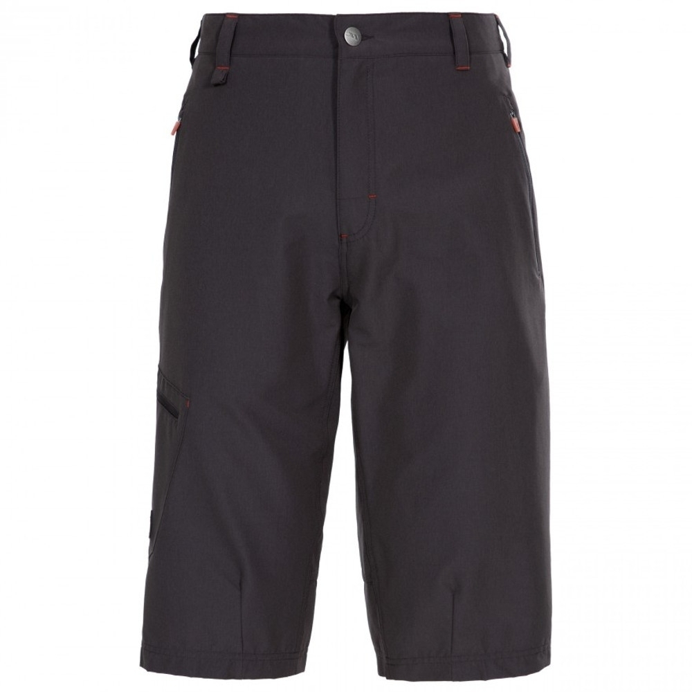 Trespass Mens Locate Long Length Walking Travel Shorts M - Waist 33-35 (84-89cm)