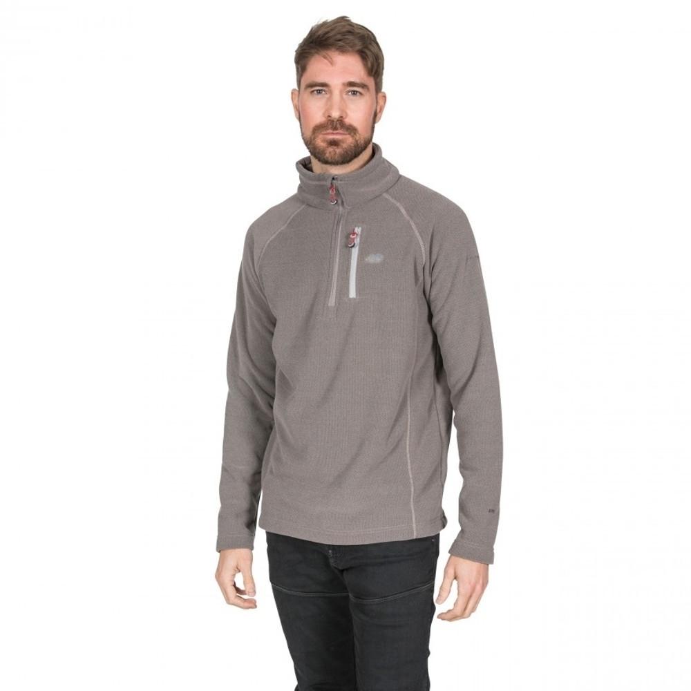 Trespass Mens Structual Half Zip Warm Soft Fleece Top Xs - Chest 33-35 (84-89cm)