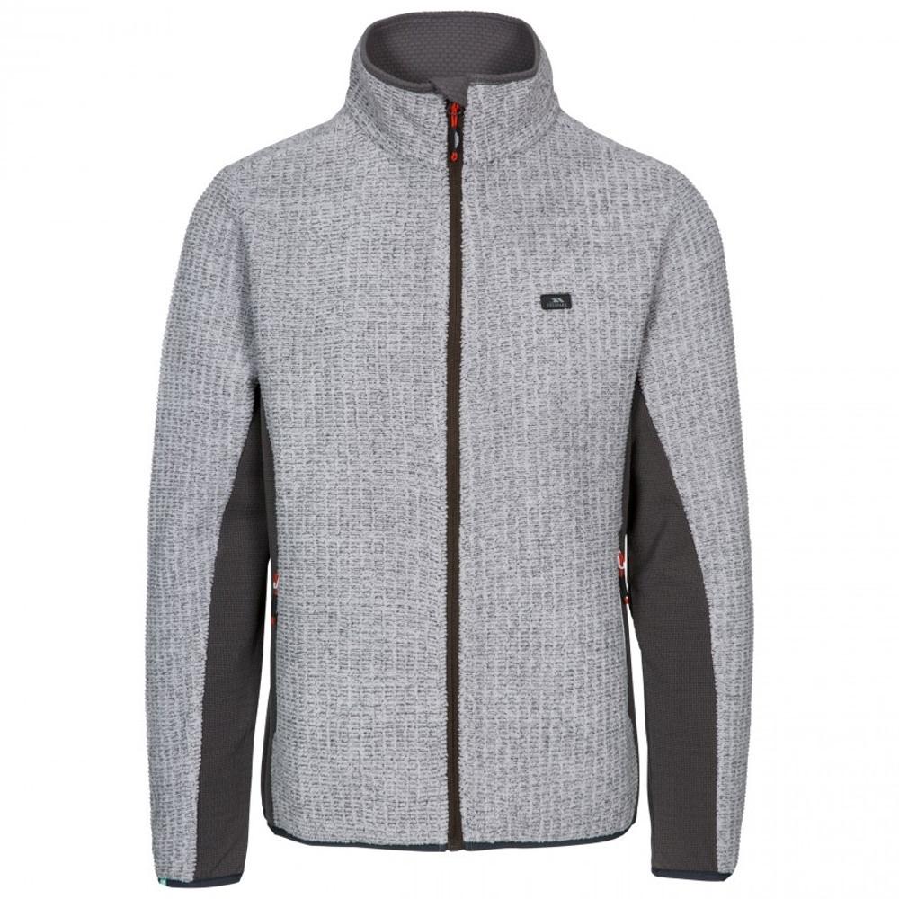 Trespass Mens Templetonpeck Full Zip Warm Fleece Jacket L - Chest 41-43 (104-109cm)