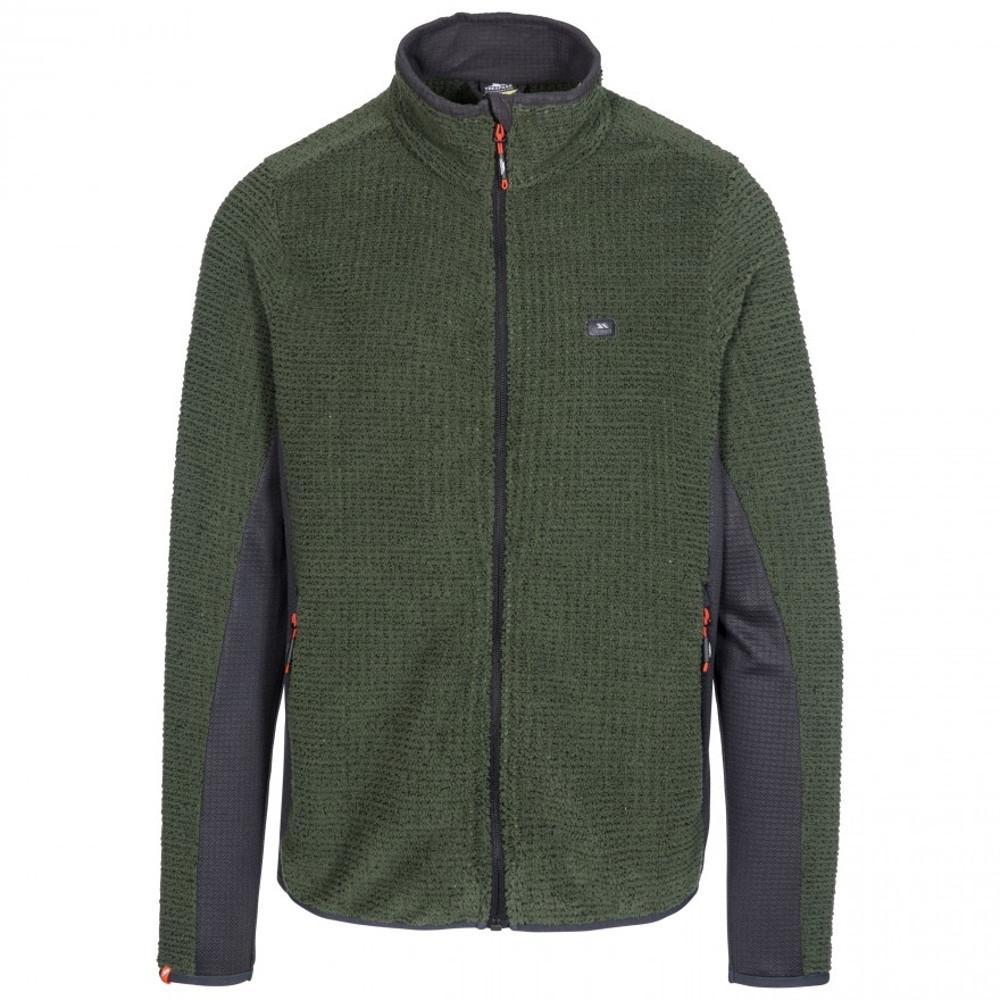 Trespass Mens Templetonpeck Full Zip Warm Fleece Jacket Xxs - Chest 31-33 (79-84cm)