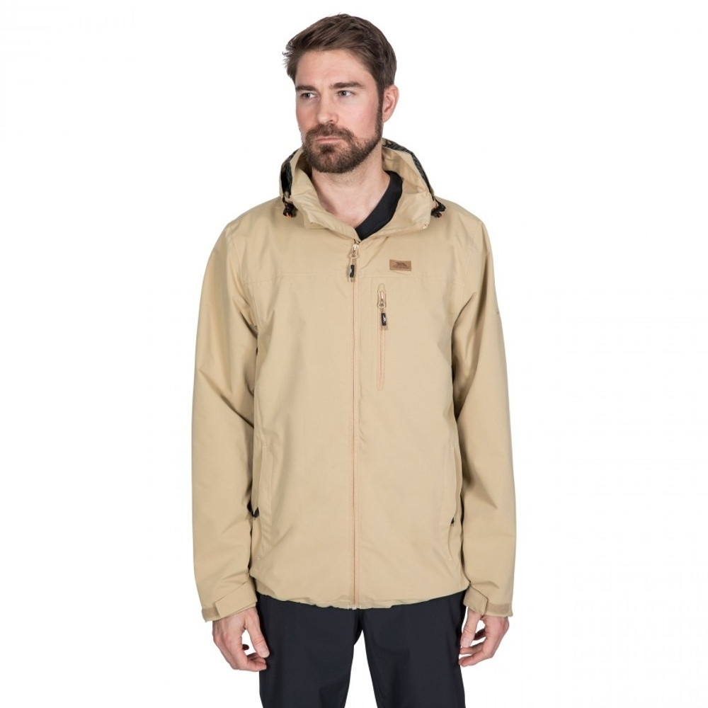 Trespass Mens Weir Waterproof Windproof Breathable Jacket L - Chest 41-43 (104-109cm)
