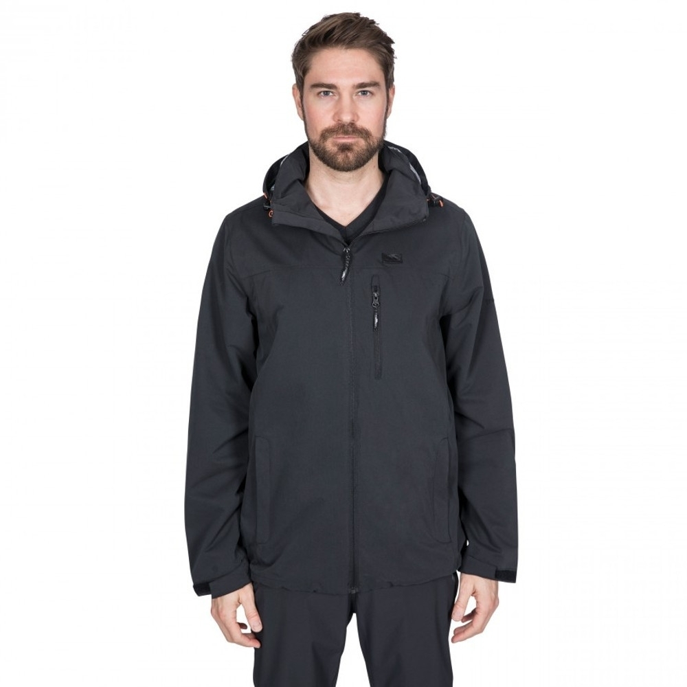 Trespass Mens Weir Waterproof Windproof Breathable Jacket Xs - Chest 33-35 (84-89cm)