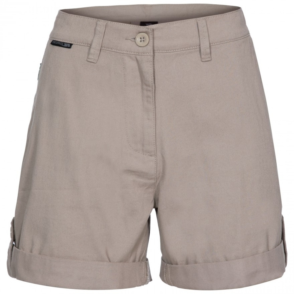 Trespass Womens Rectify Short Length Summer Walking Shorts 12/m - Waist 30 (76cm)