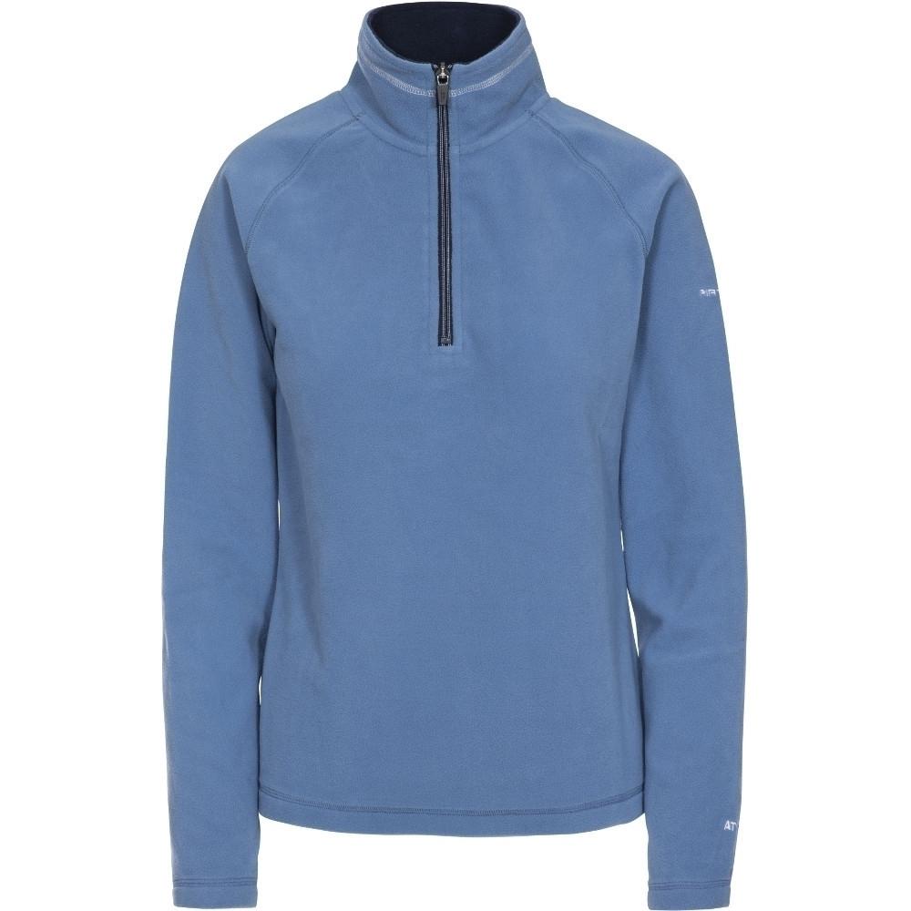 Trespass Womens Skylar At100 Half Zip Microfleece Jacket Xxs- Uk 6  Bust 31 (78cm)