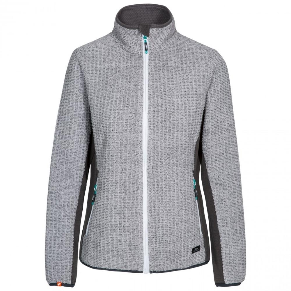 Trespass Womens Liggins Full Zip Airtrap Fleece Jacket 10/s - Bust 34 (86cm)