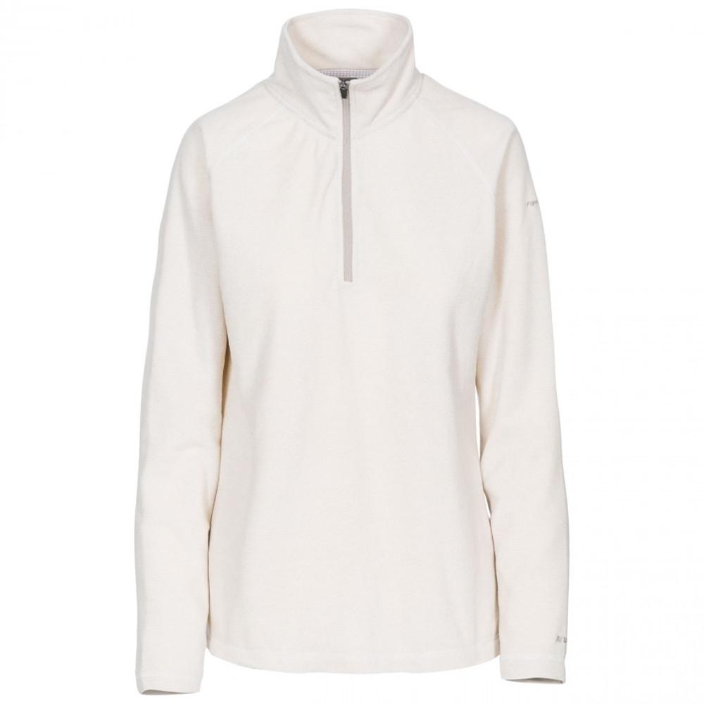 Trespass Womens Meadows At100 Half Zip Microfleece Jacket 12/m - Bust 36 (91.4cm)