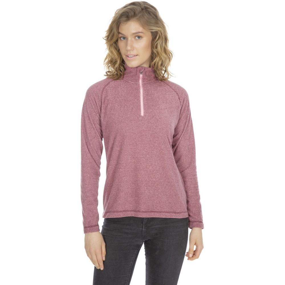 Trespass Womens Meadows At100 Half Zip Microfleece Jacket Xl- Uk 16  Bust 40 (101.5cm)