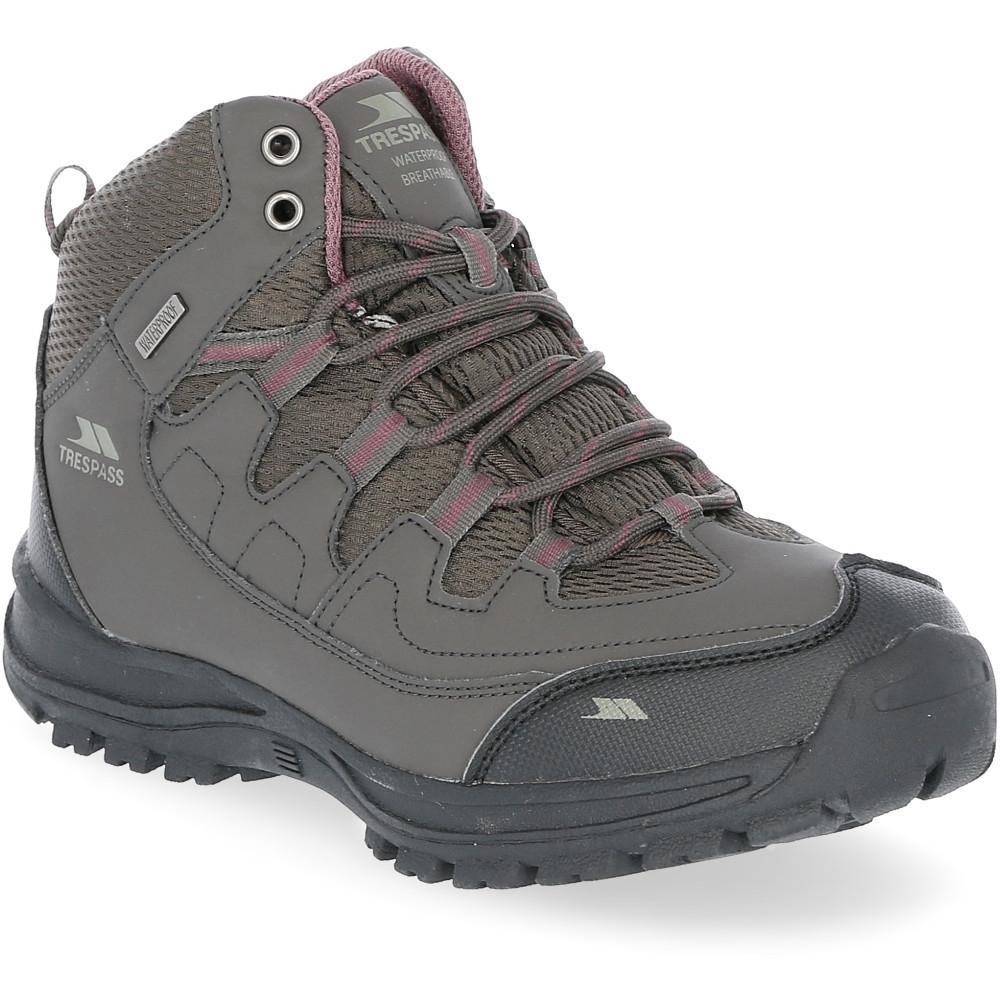 Trespass Womens Mitzi Mid Height Waterproof Walking Boots