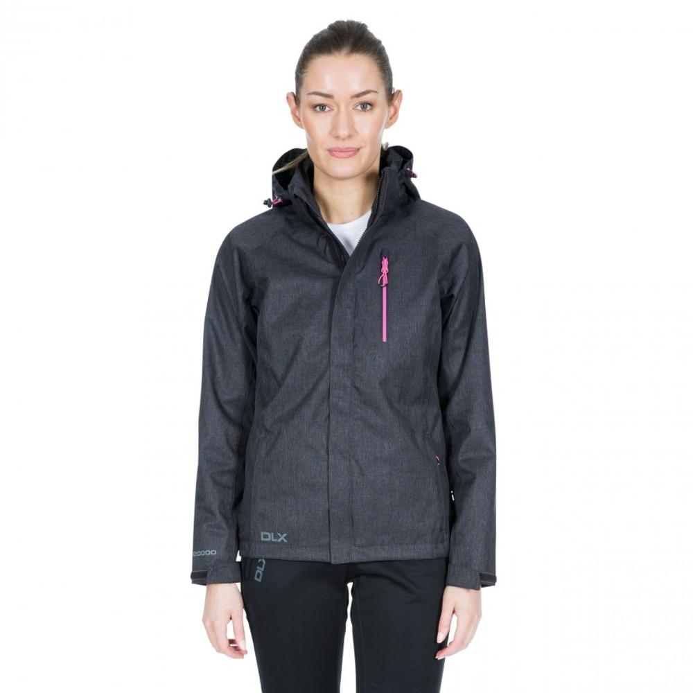 Trespass Womens Tiya Dlx Waterproof Breathable Walking Coat 8/xs - Bust 32 (81cm)