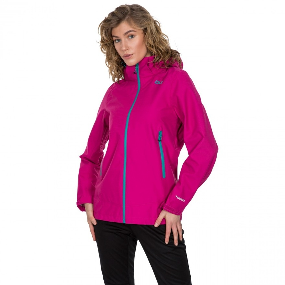 Trespass Womens Gayle Dlx Waterproof Breathable Walking Coat 12/m - Bust 36 (91.4cm)