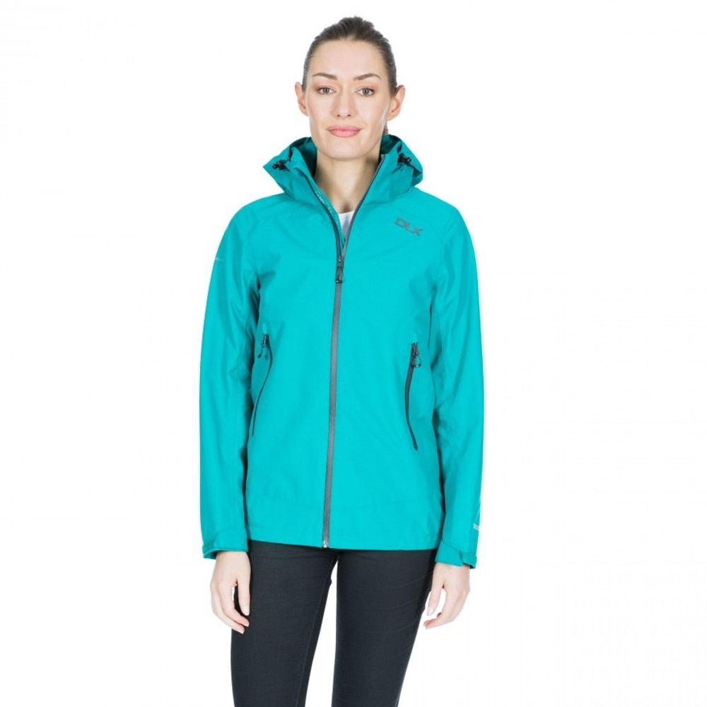 Trespass Womens Gayle Dlx Waterproof Breathable Walking Coat 6/xxs - Bust 31 (78cm)
