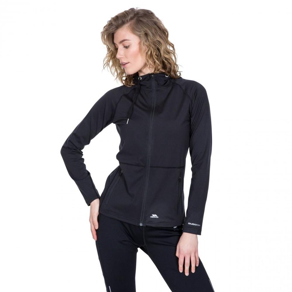 Trespass Womens Dacre Duo Skin Quick Drying Sporty Coat 6/xxs - Bust 31 (78cm)