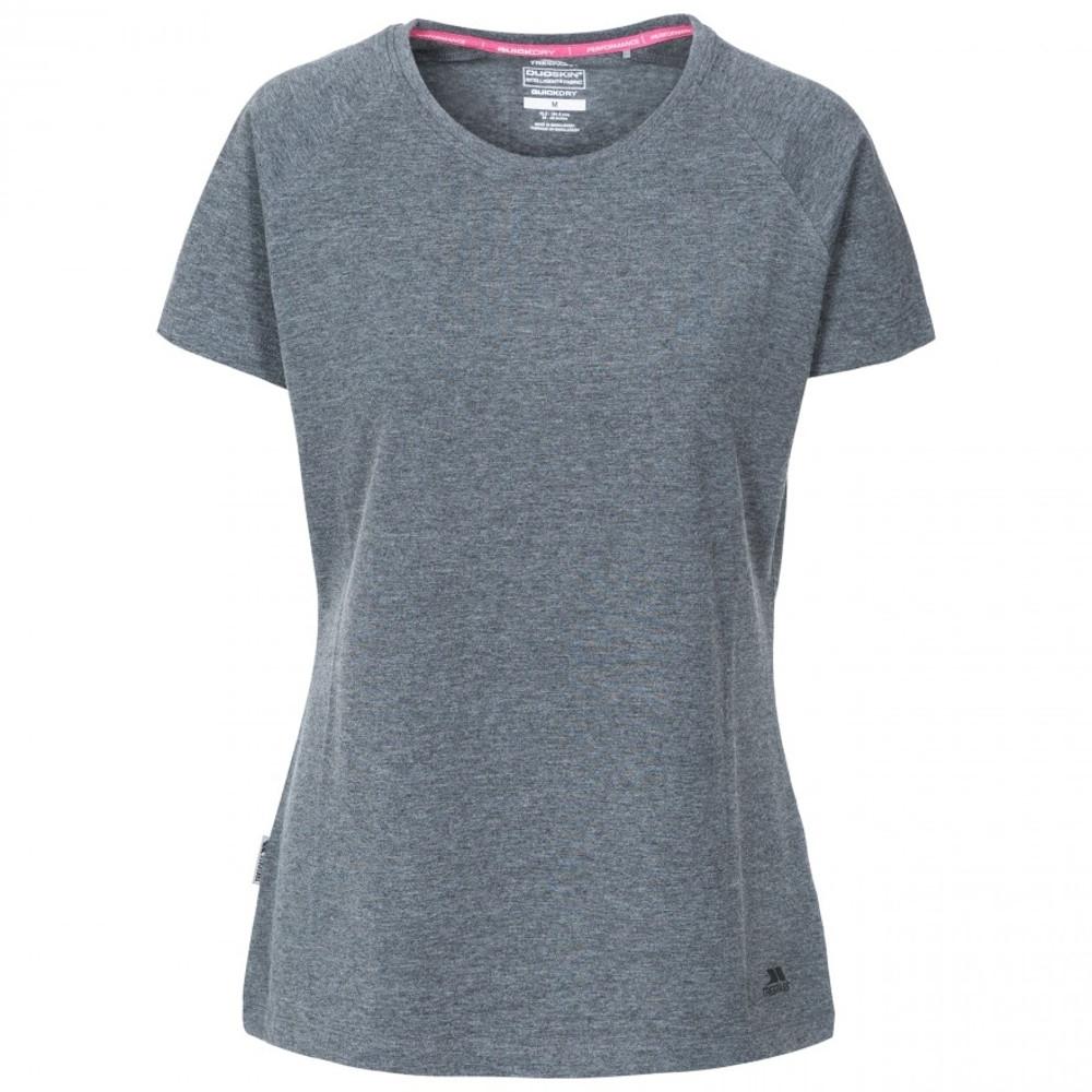 Trespass Womens Benita Active Short Sleeve Quick Dry T Shirt 8/xs - Bust 32 (81cm)