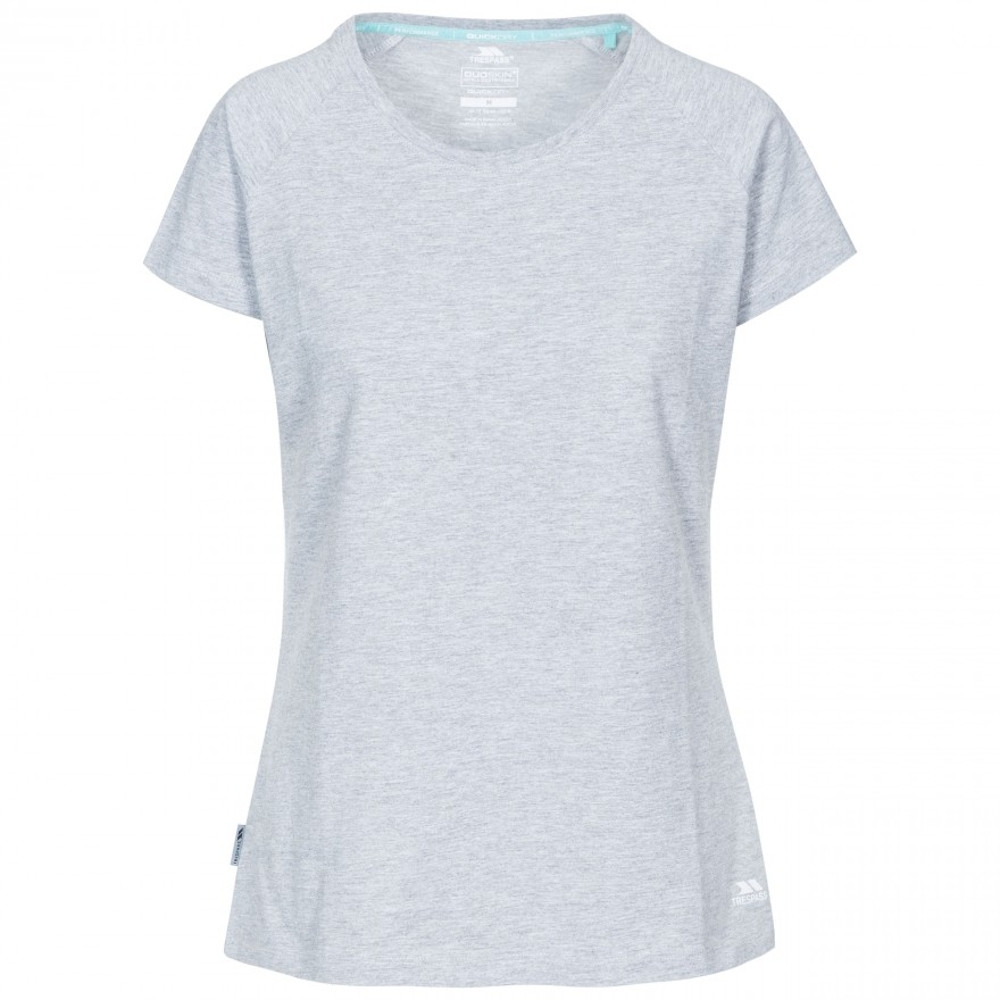 Trespass Womens Benita Active Short Sleeve Quick Dry T Shirt 14/l - Bust 38 (96.5cm)