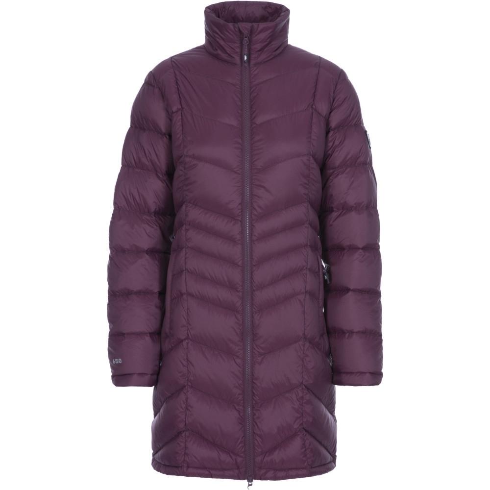 Trespass Womens Micaela Lightweight Long Length Padded Coat Xs- Uk 8  Bust 32 (81cm)