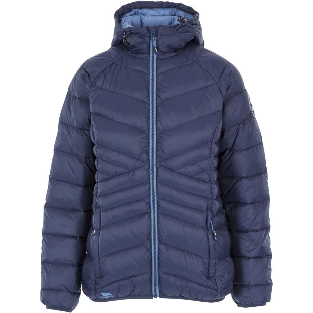 Trespass Womens Julieta Ultra Lightweight Warm Padded Coat S-uk 10  Bust 34 (86cm)