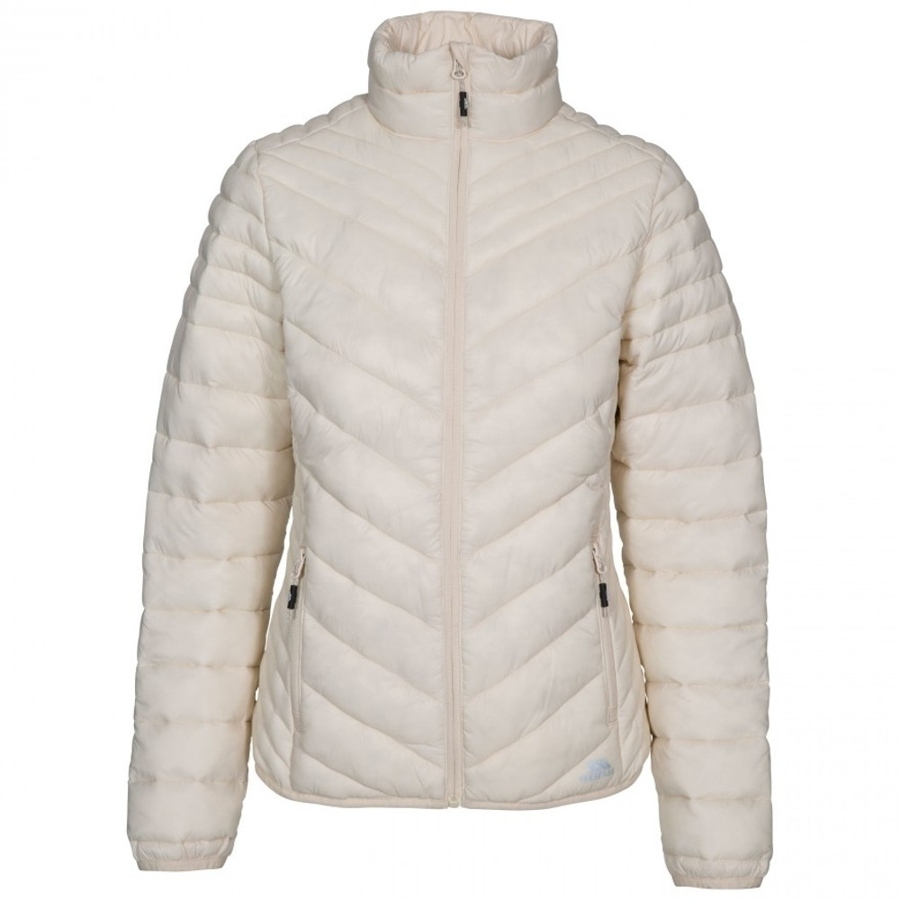 Trespass Womens Simara Padded Down Touch Warm Quilted Coat L-uk 14  Bust 38 (96.5cm)