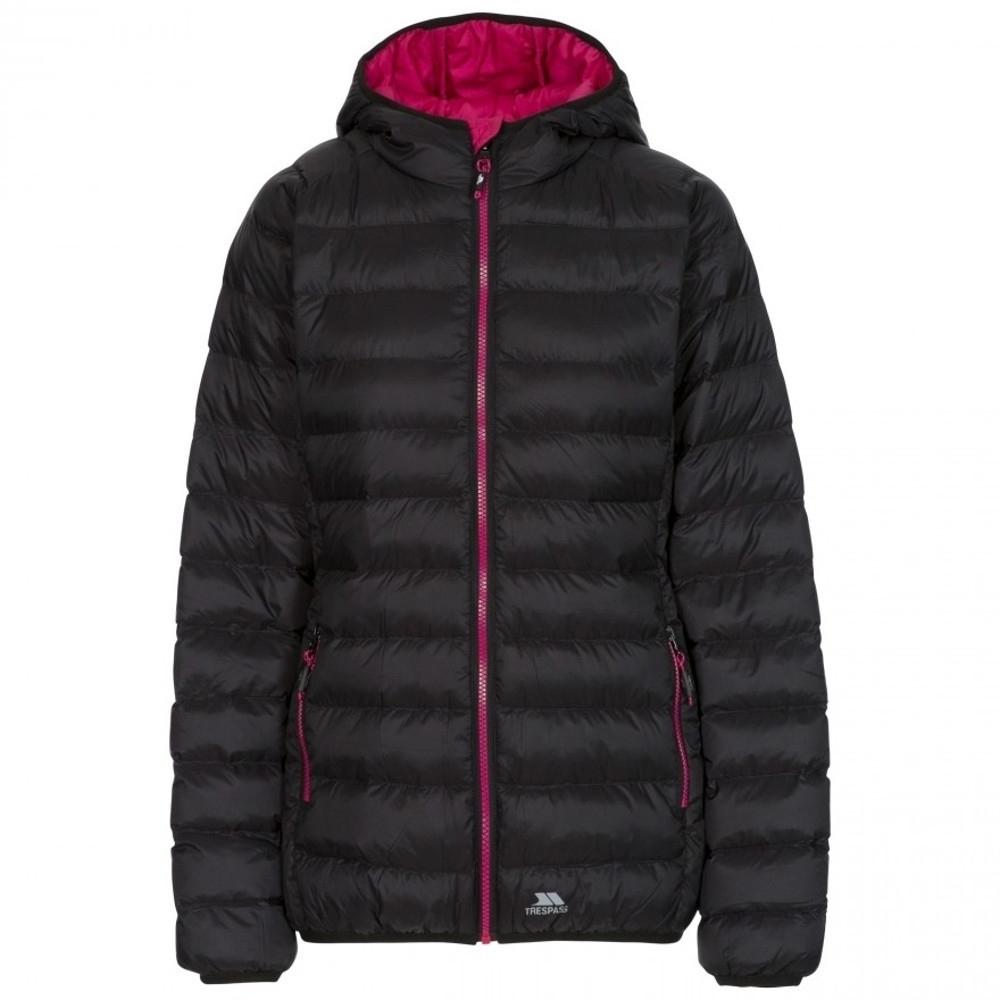 Trespass Womens Abigail Padded Hooded Warm Casual Coat Xxs- Uk 6  Bust 31 (78cm)