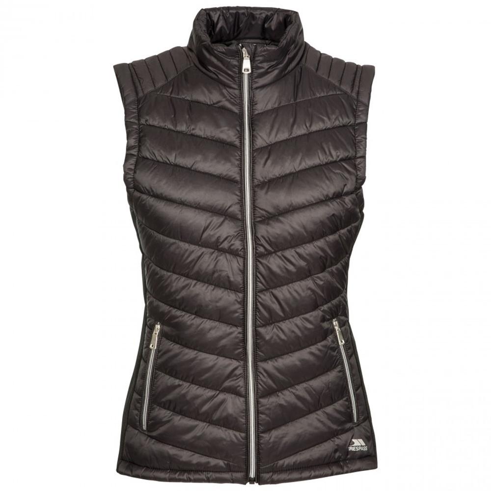 Trespass Womens Elanora Furry Fleece Lined Padded Bodywarmer Xxs- Uk 6  Bust 31 (78cm)