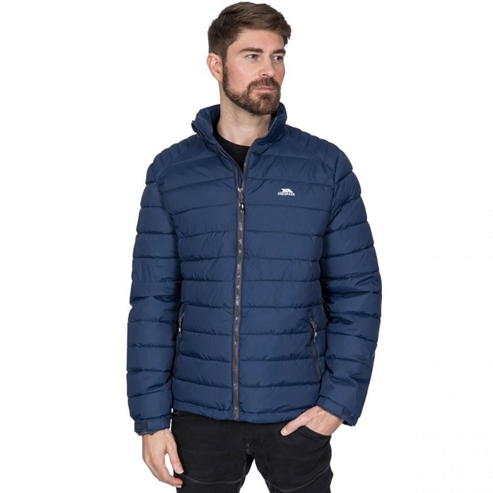 Trespass Mens Darrell Padded Warm Adjustable Casual Jacket Xxl- Chest 46-48 (117-122cm)