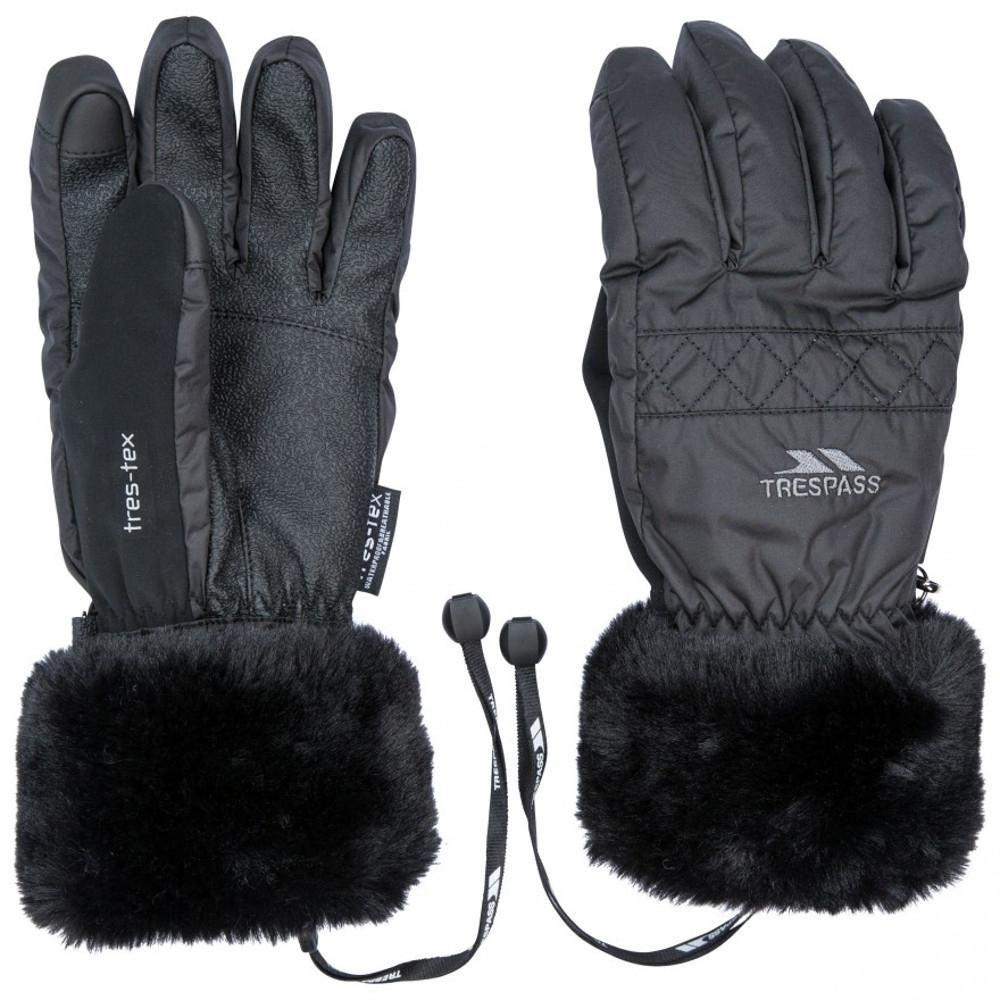 Trespass Womens Yanki Lightly Padded Winter Warm Gloves Large