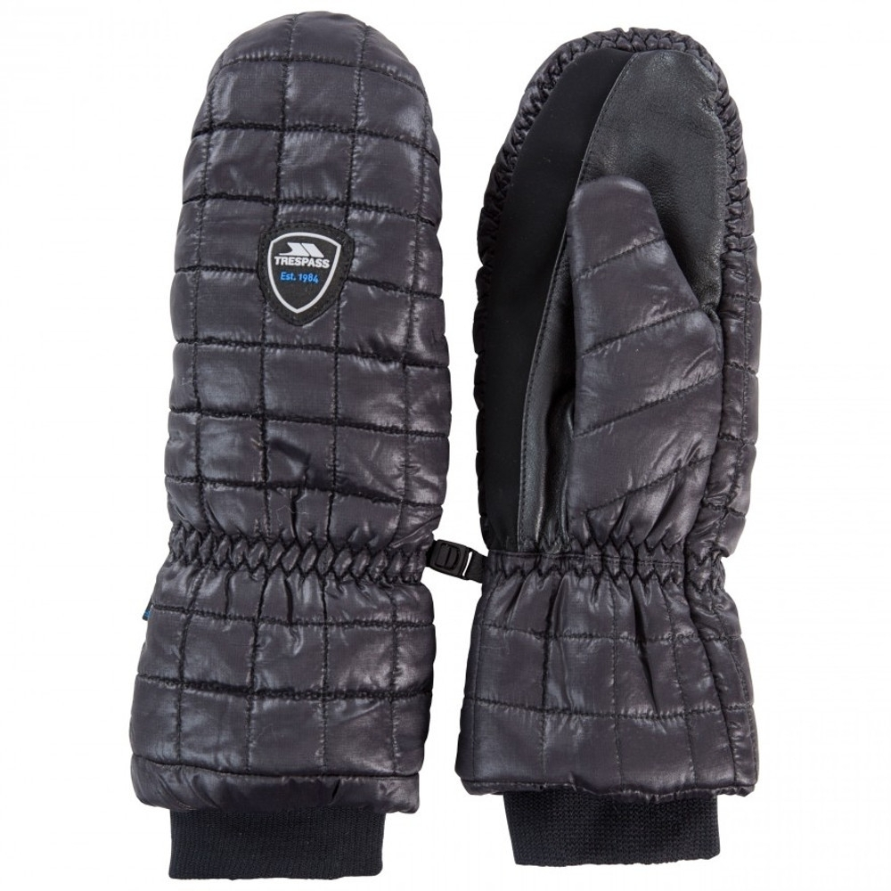 Trespass Womens Pikido Lightly Padded Winter Warm Mitts Small