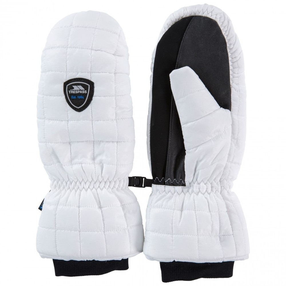 Trespass Womens Pikido Lightly Padded Winter Warm Mitts Large