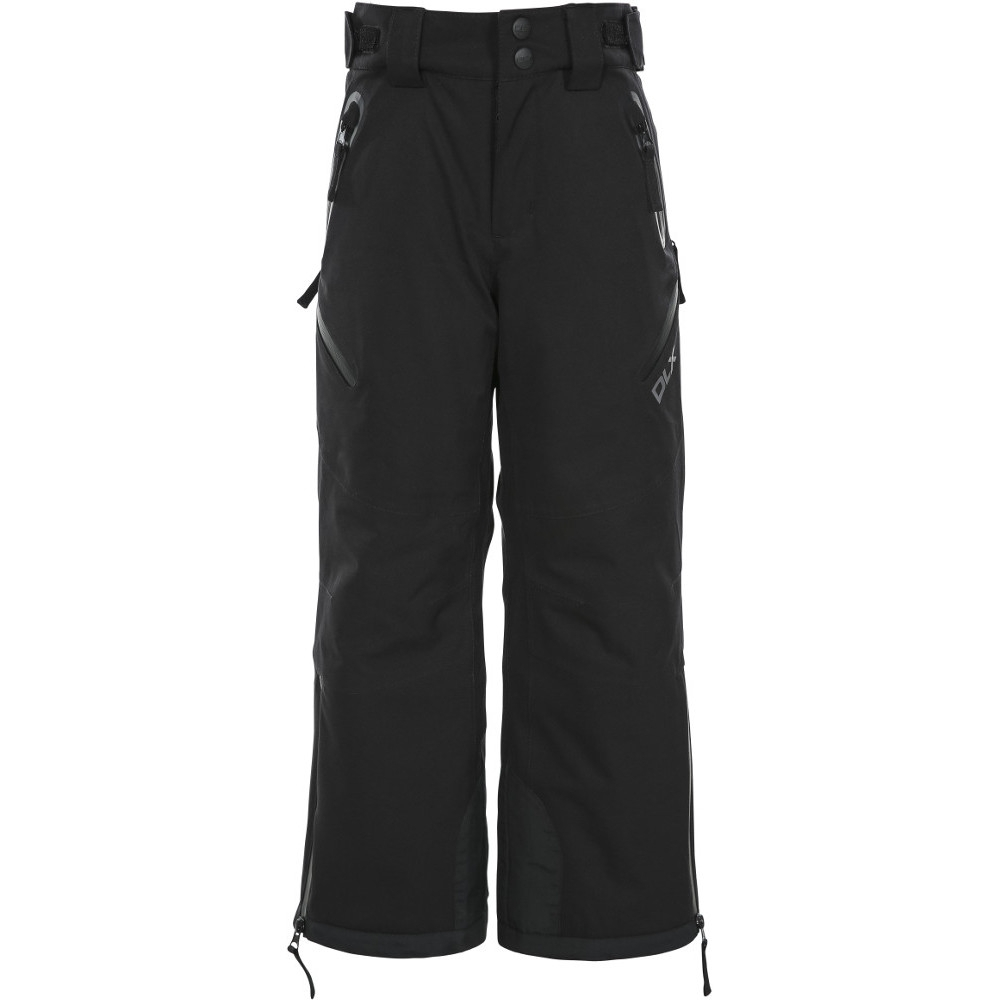 Trespass Boys Dozer Waterproof Down Touch Ski Pants Trousers 5-6 Years- Waist 22 (56cm)