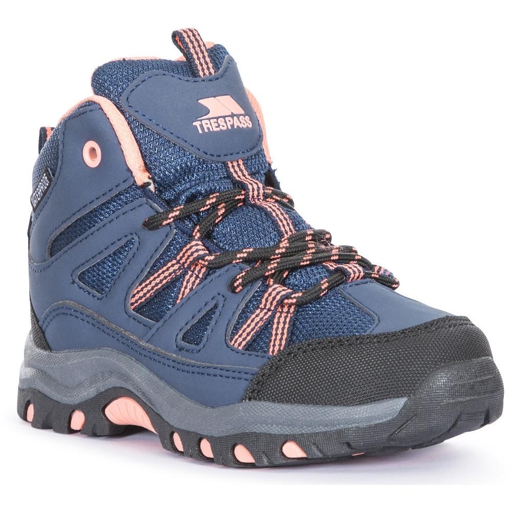 Trespass Boys Gillon Breathable Durable Laced Walking Boots