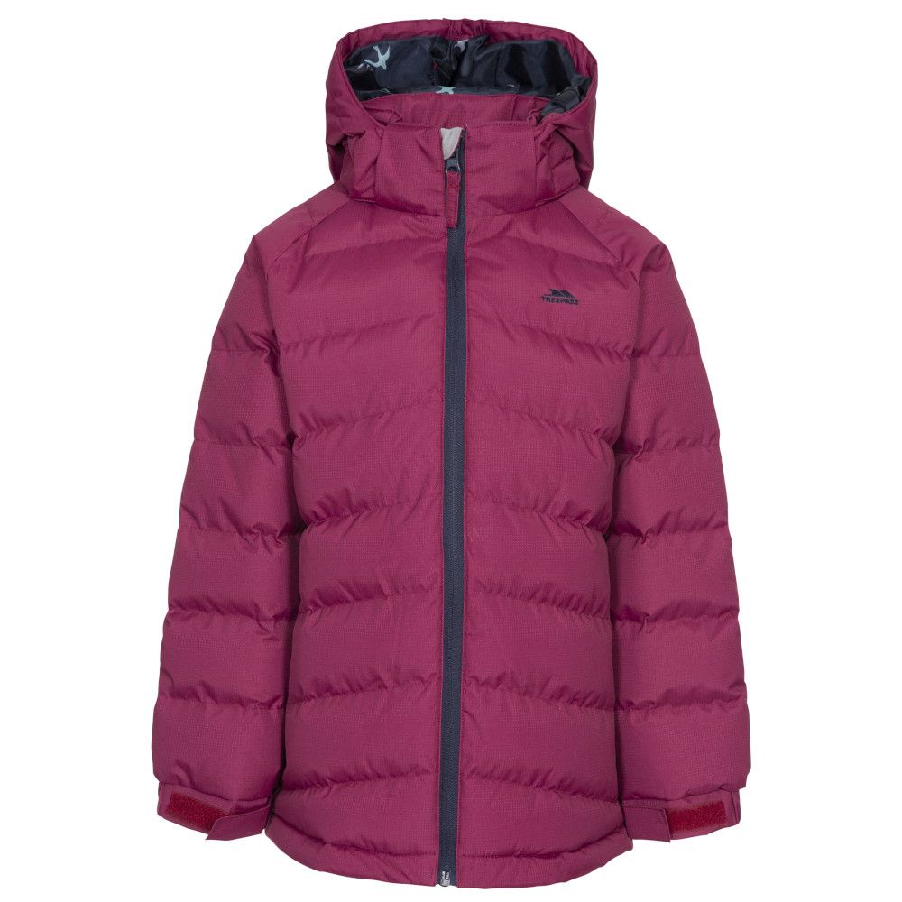 Trespass Girls Amira Tp50 Insulated Waterproof Quilted Coat 9-10 Years- Chest 28 (71cm)