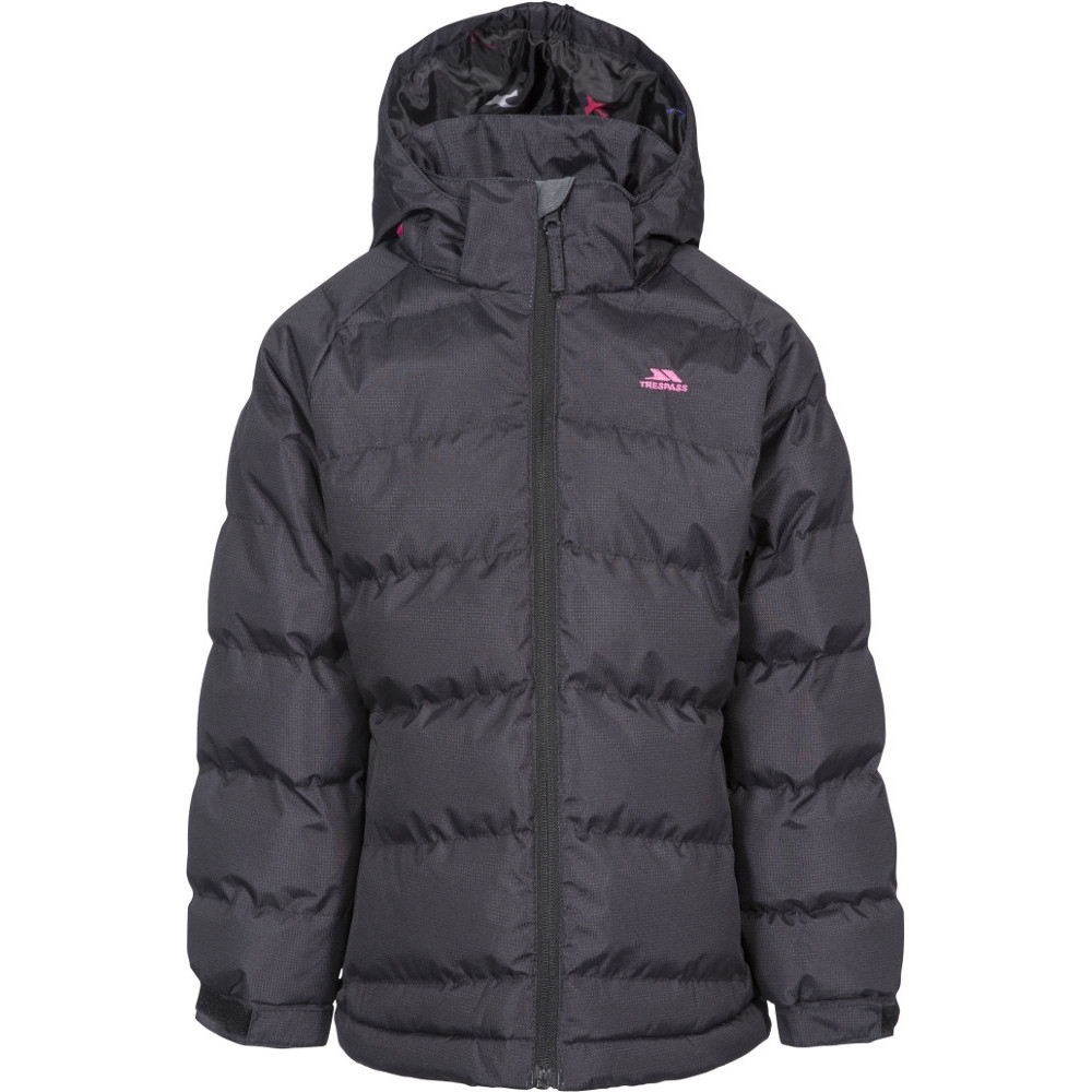 Trespass Girls Amira Tp50 Insulated Waterproof Quilted Coat 7-8 Years- Chest 26 (66cm)