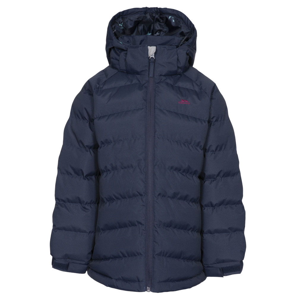 Trespass Girls Amira Tp50 Insulated Waterproof Quilted Coat 3-4 Years- Chest 22 (56cm)