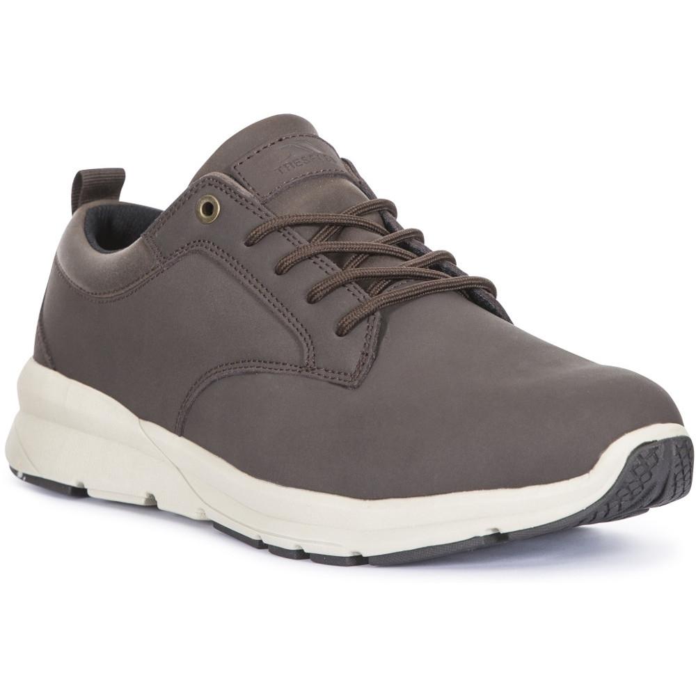 Trespass Mens Carlan Light Low Cut Leather Walking Shoes Uk Size 10 (eu 44  Us 11)