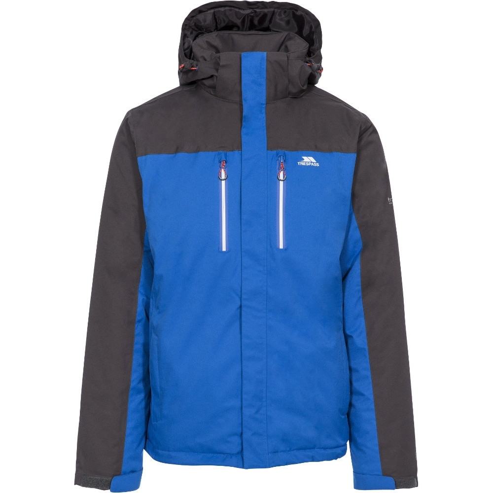 Trespass Mens Tolsford Tp75 Waterproof Breathable Jacket L- Chest 41-43 (104 - 109cm)
