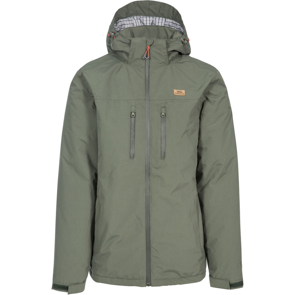 Trespass Mens Toffit Tp75 Waterproof Breathable Warm Jacket L- Chest 41-43 (104 - 109cm)