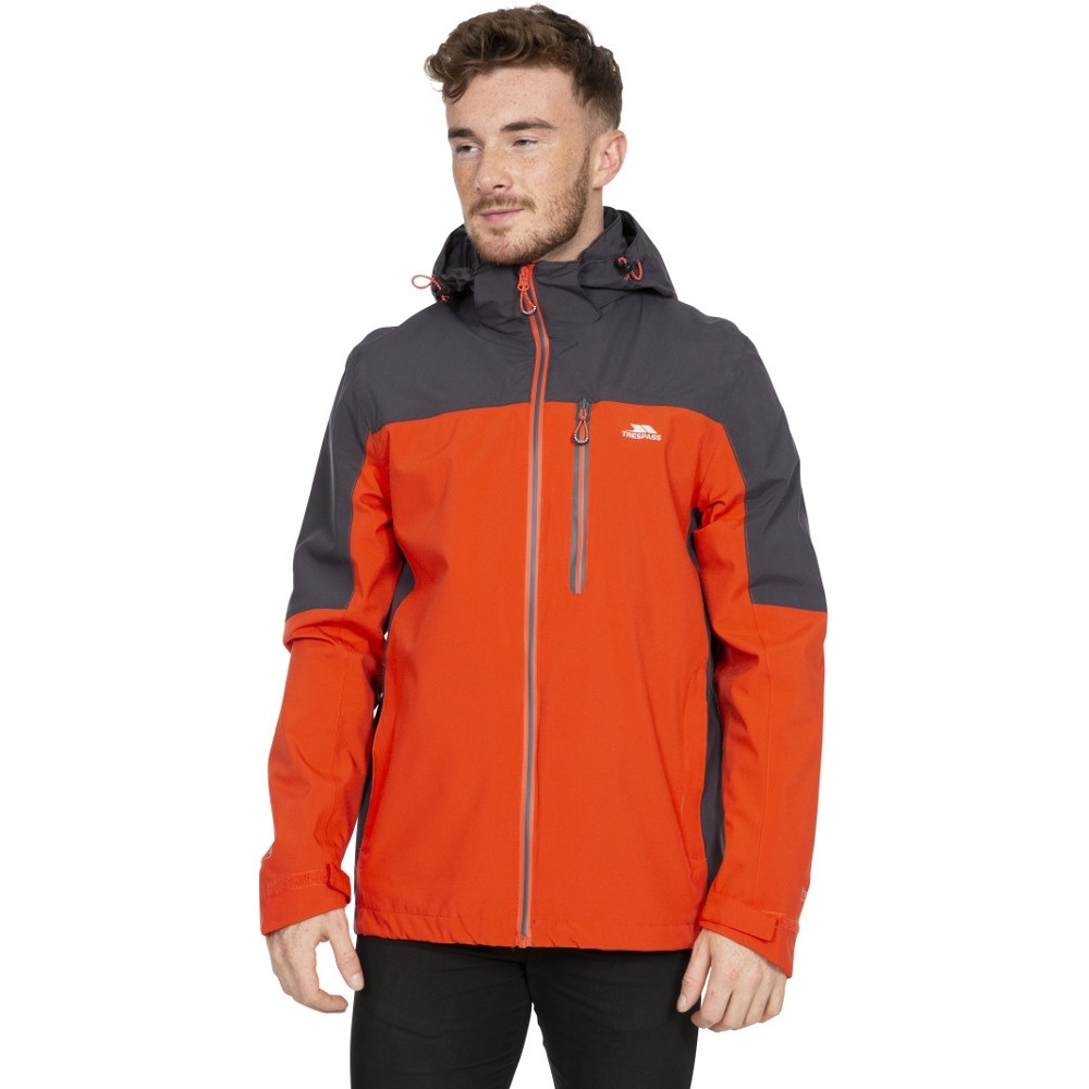 Trespass Mens Tappin Waterproof Breathable Stretch Jacket Xxl- Chest 46-48 (117 - 122cm)